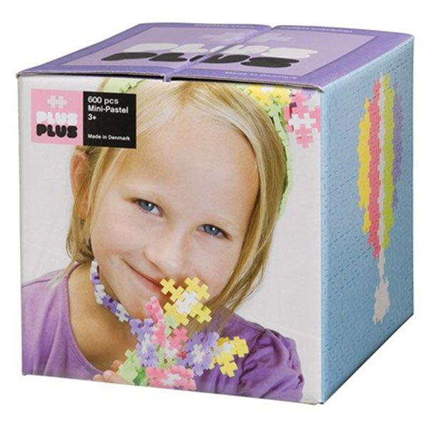 Image of Plus Plus brikker - MINI - Pastel (600) (5710409100052)