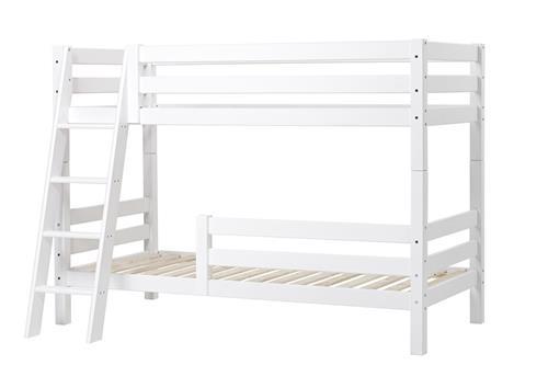 Etageseng med strå stige og 2 sengeheste - Hoppekids Premium (200x90)