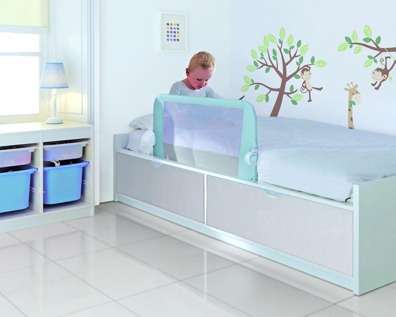 Image of Sengehest fra Lindam - Toddler Easy Fit Bed Rail - Blå (LDM-SAF13)