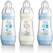 Image of   Anti-kolik sutteflasker fra MAM 160ml (3-pak) - Dreng