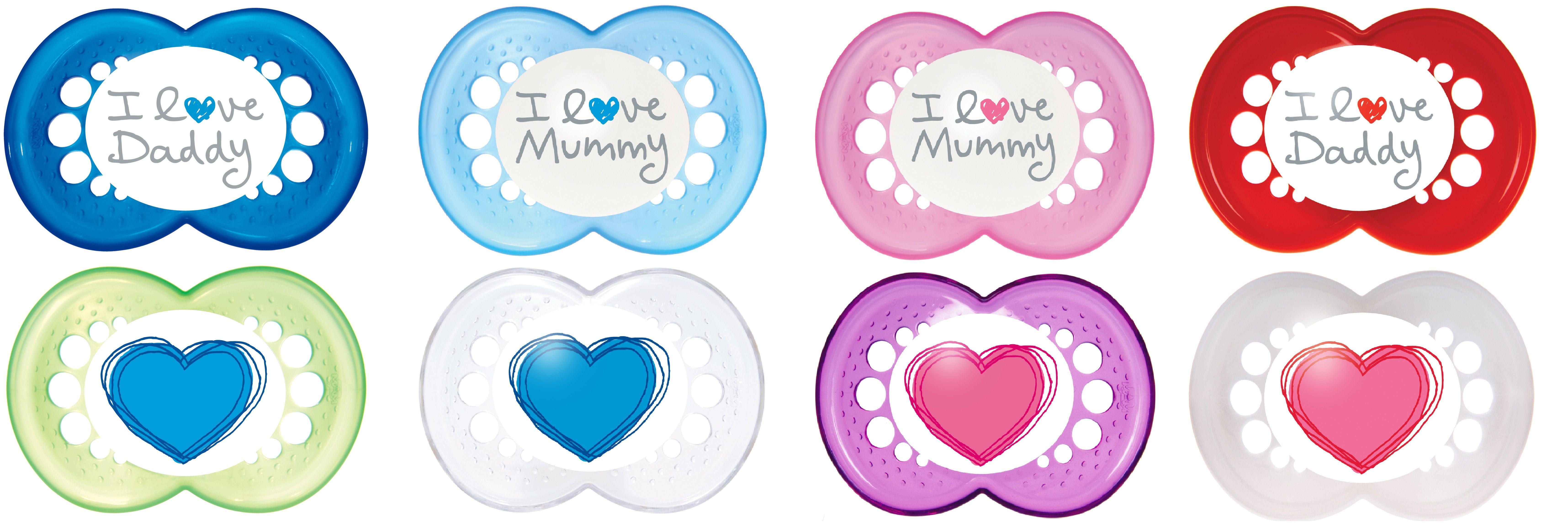 Mam – Sut fra mam - original jeg elsker mor (2-pak) - 6m+ fra babygear.dk