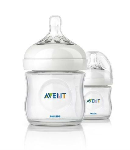 Image of Sutteflaske fra Philips AVENT - PP - Natural - 0m+ (125ml) (AVT-FED28)