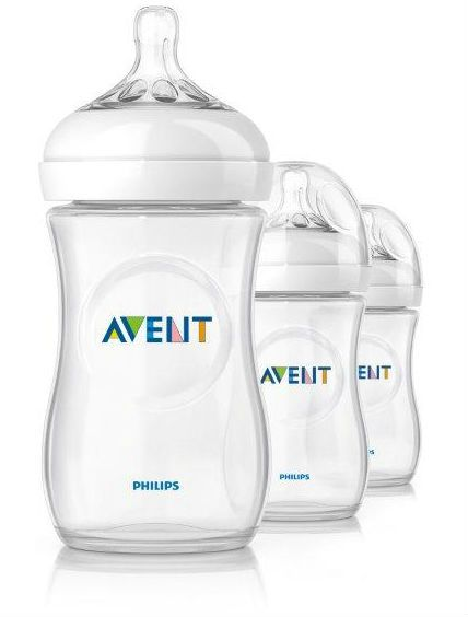 Image of Sutteflaske fra Philips AVENT - PP - Natural - 1m+ (260ml) (3 stk) (AVT-FED30)