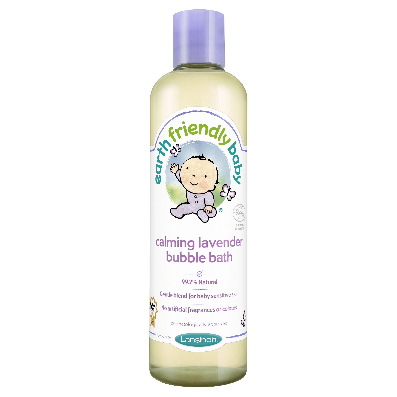 Lansinoh – økologisk skumbad fra earth friendly baby - lavendel fra babygear.dk