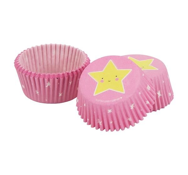 Image of   Cupcake forme fra A Little Lovely Company - Unicorn (50 stk)