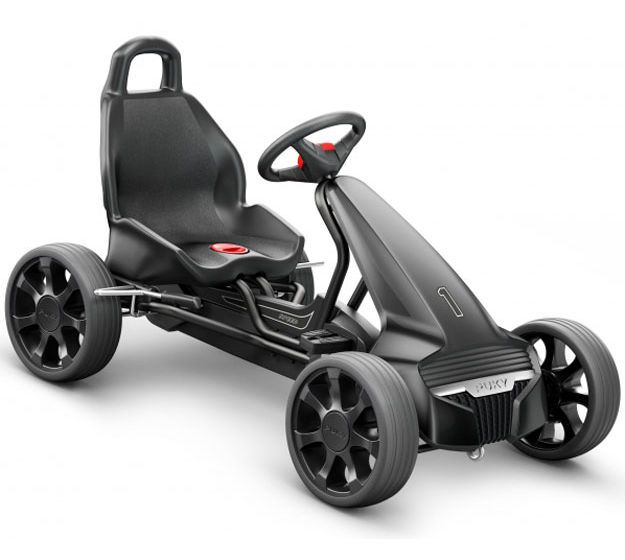Image of   Gokart F 550 fra Puky - Sort
