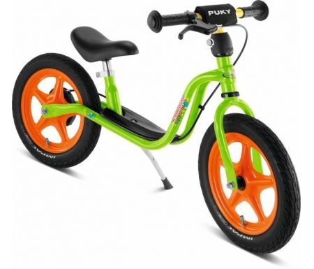 Løbecykel fra PUKY - LR1 L Br - Håndbremse - Kiwi/Orange
