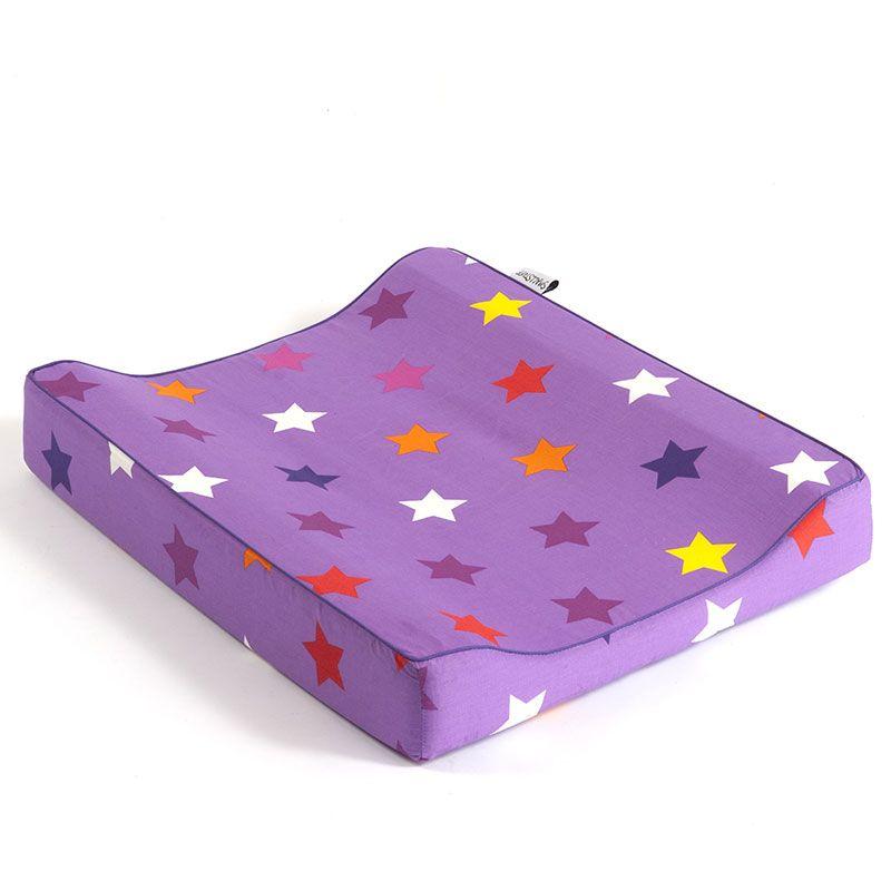 Puslepude fra Smallstuff - Lavender Multi Star