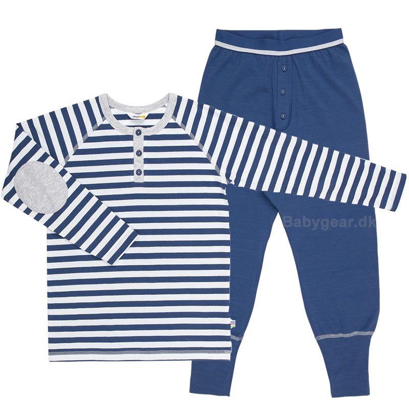Image of   Pyjamas fra Joha - Navy Stripe