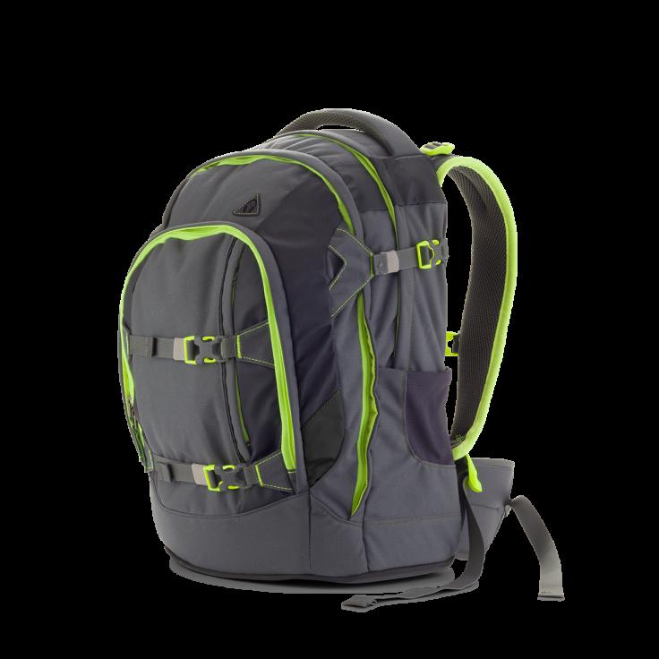 Satch Skoletaske rygsæk satch pack - phantom (30l) fra babygear.dk