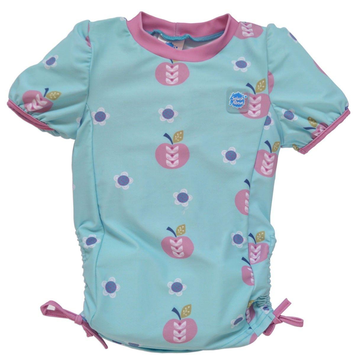 Image of UV trøje fra Splash About - Korte ærmer - Apple Daisy (UVRTAS)