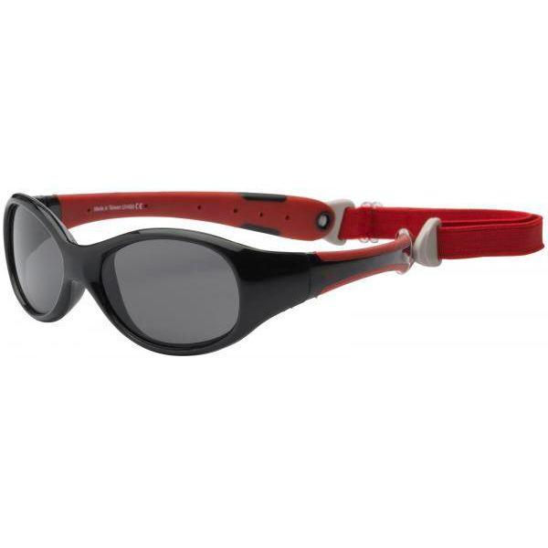 Real kids shades Solbriller fra real shades - explorer - sort fra babygear.dk