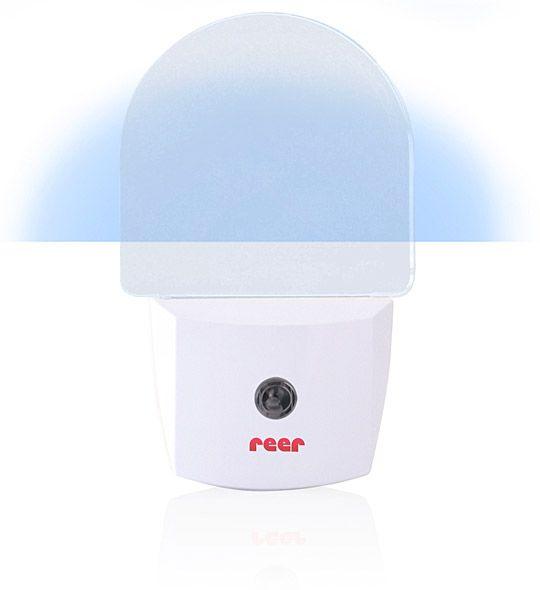 Image of LED Natlampe m. fotosensor fra Reer - Hvid (5061)