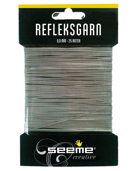 Image of Refleksgarn fra SeeMe - 0,8 mm (25 meter) (58587)