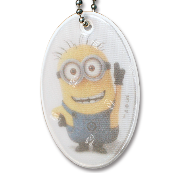 Image of   Hængerefleks fra Softreflector - Minions - Happy Tom