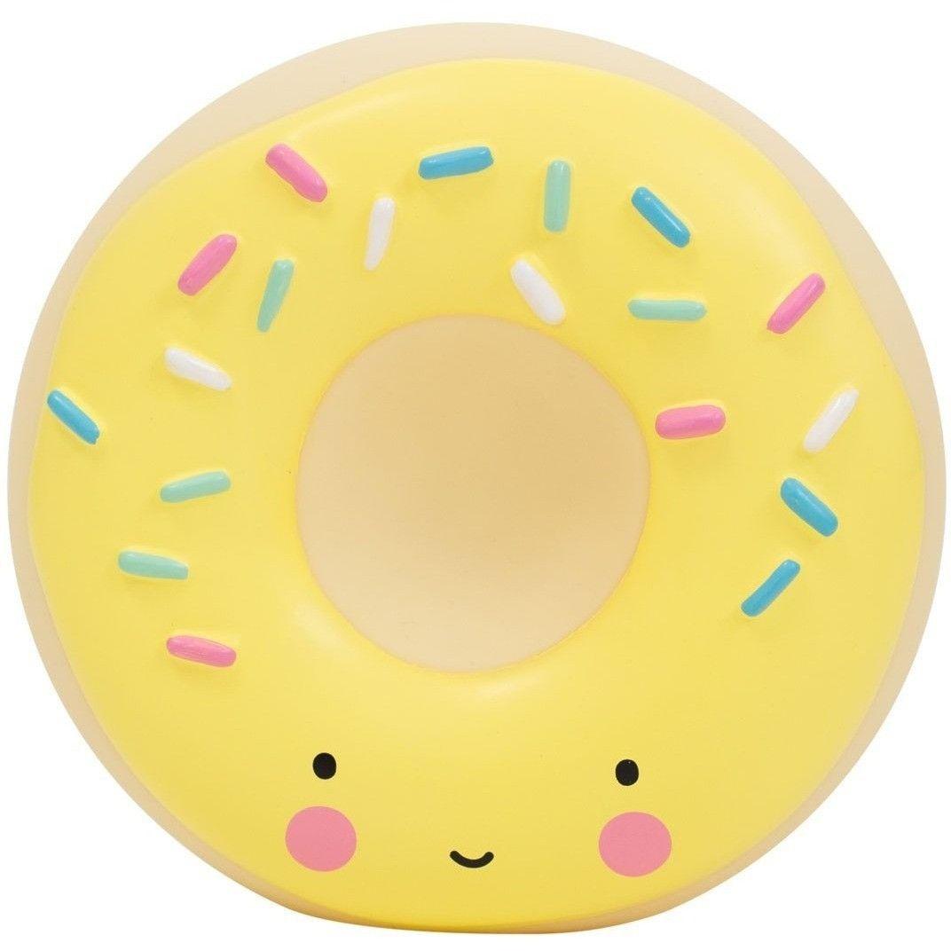 Image of Sparebøsse fra A Little Lovely Company - Yellow Donut (MBDOYL06)