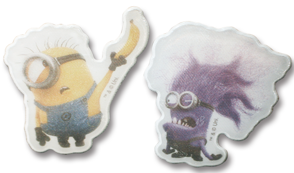 Image of   Refleks stickers fra Softreflector - Stuart og Evil Minion
