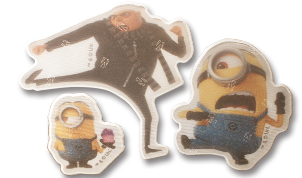 Image of   Refleks stickers fra Softreflector - Minions og Gru