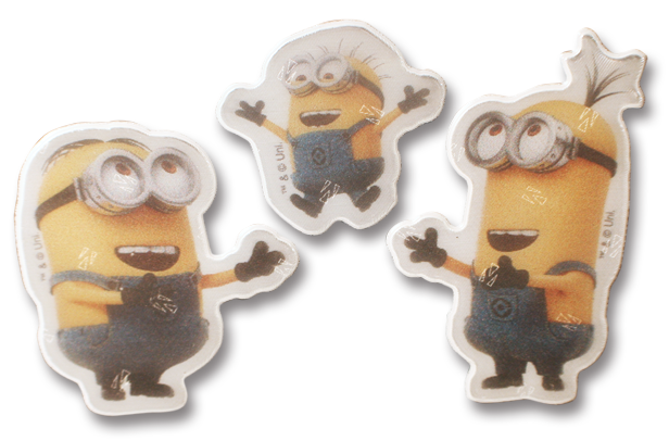 Image of   Refleks stickers fra Softreflector - Laughing Minions
