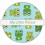 Image of Mini snack bag fra Itzy Ritzy - 2 stk. - My Little Prince (Frogs) (IR-MSWB-9009)