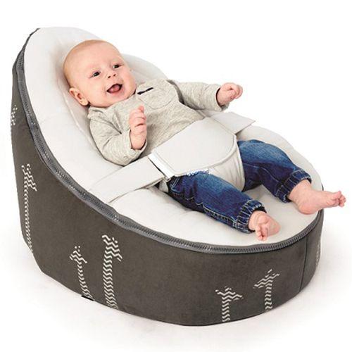 Image of Doomoo Seat - Skråstol / Sækkestol (0-30 kg) - Giraffe (5400653999709)