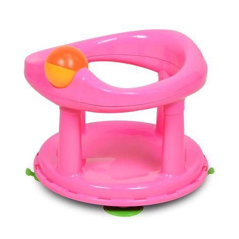 Image of   Badestol fra Safety First - 360 rotation - Pink