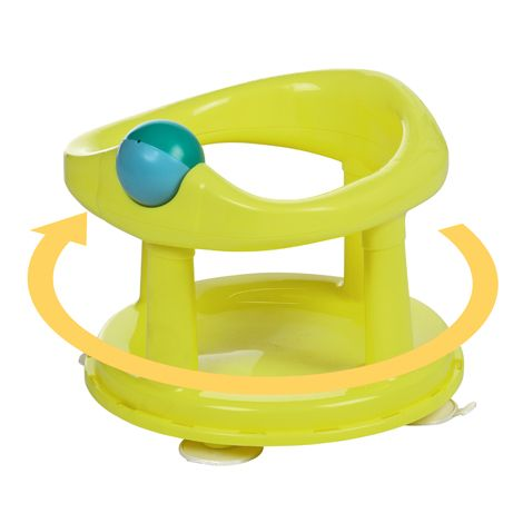 Image of   Badestol fra Safety First - 360 rotation - Lime