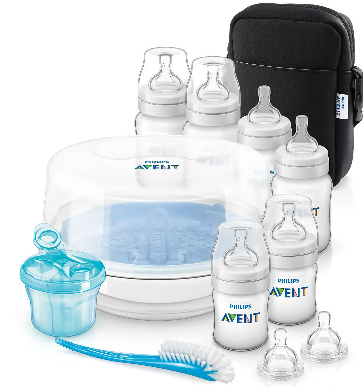 Image of AVENT Classic+ startpakke - Bottle Feeding Essentials Set (AVT-FED20)