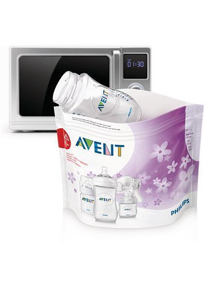 Image of Sterilisatorposer til mikroovn fra Philips AVENT (100+ steriliseringer) (8710103606611)