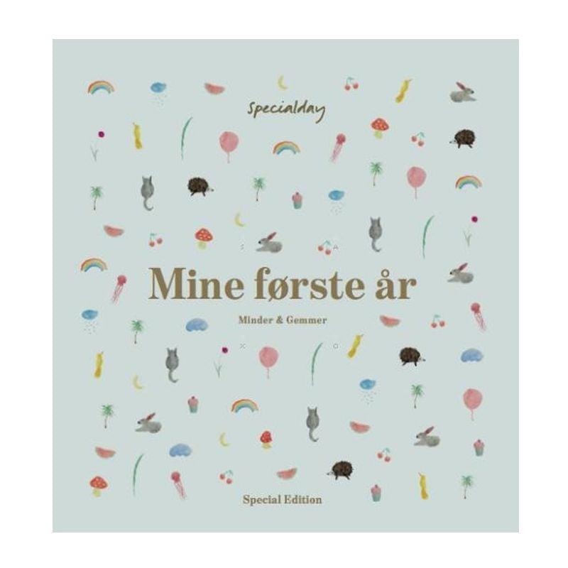 Image of Barnets Bog fra SpecialDay - Mine første år - Special Edition - Dreng (9788792021380)