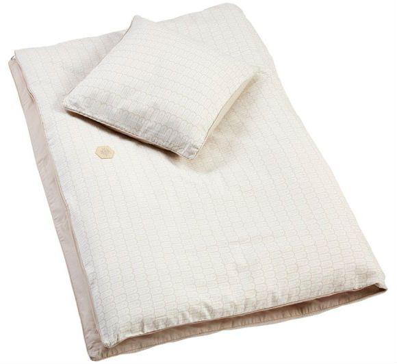 Billede af Sengetøj fra Filibabba (Organic) - Indian - Warm Grey