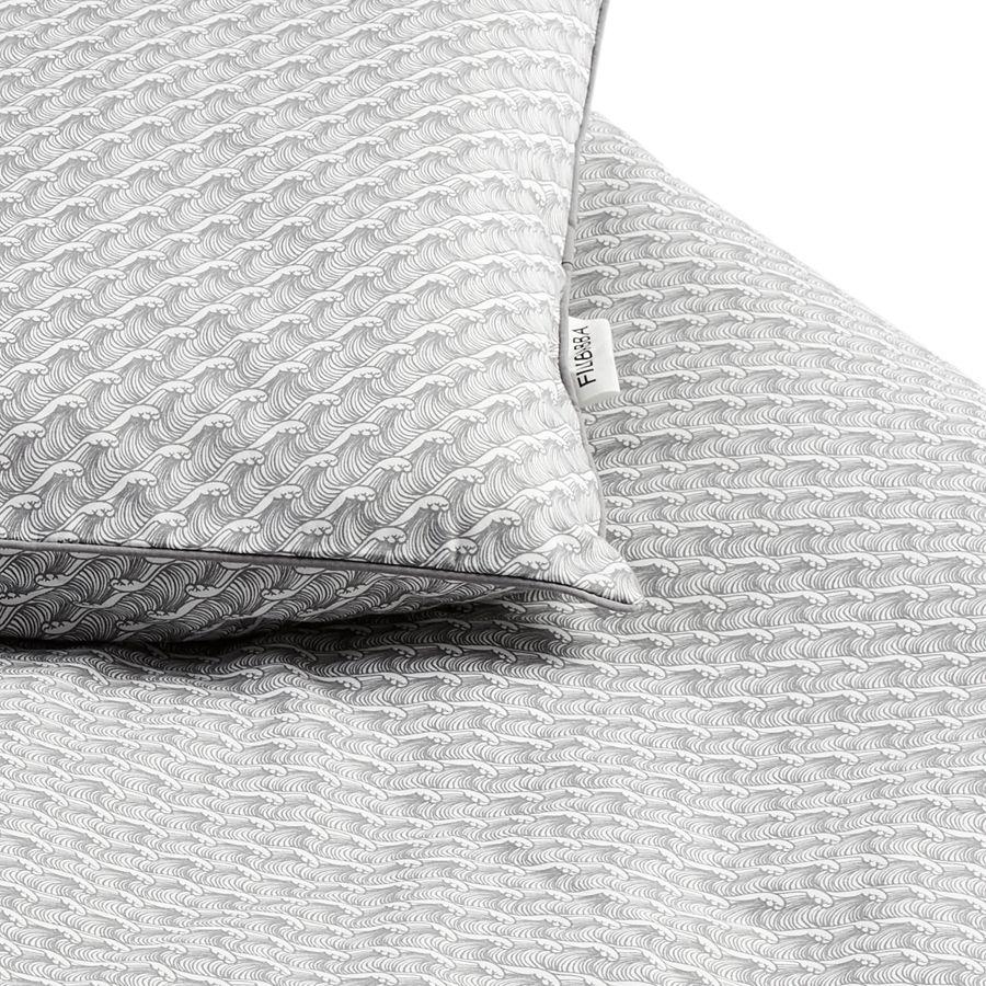 Billede af Sengetøj fra Filibabba (Organic) - Ocean Grey
