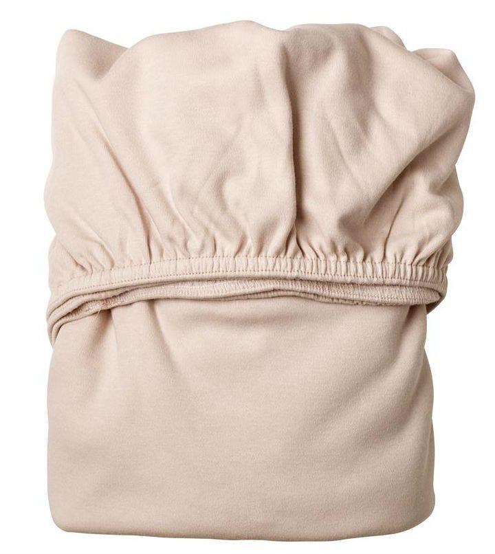 Billede af Lagen til babyseng fra Leander - Soft Pink (2 stk)