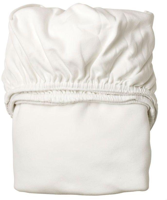 Billede af Lagen til babyseng fra Leander - Hvid (2 stk)