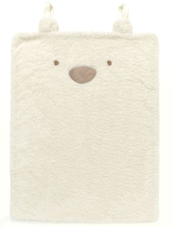 Image of Tæppe fra Silvercloud - Travel Blanket - Teddy Bear (SCD-BED09)