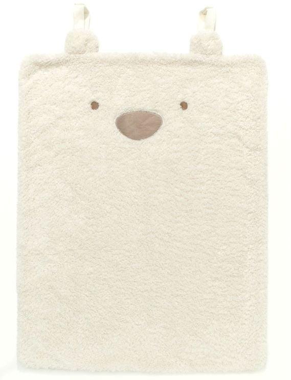 Tæppe fra Silvercloud - Travel Blanket - Teddy Bear