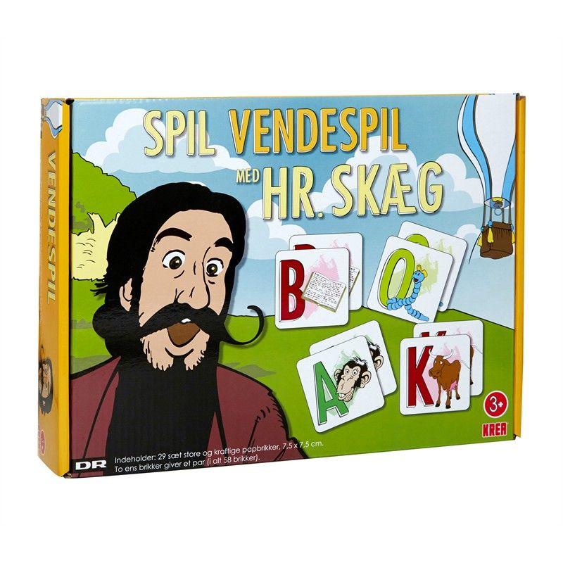 Image of Hr. Skæg - Vendespil (5707152064328)