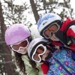 Baby banz – Skibriller fra baby banz - ski banz arctic white fra babygear.dk