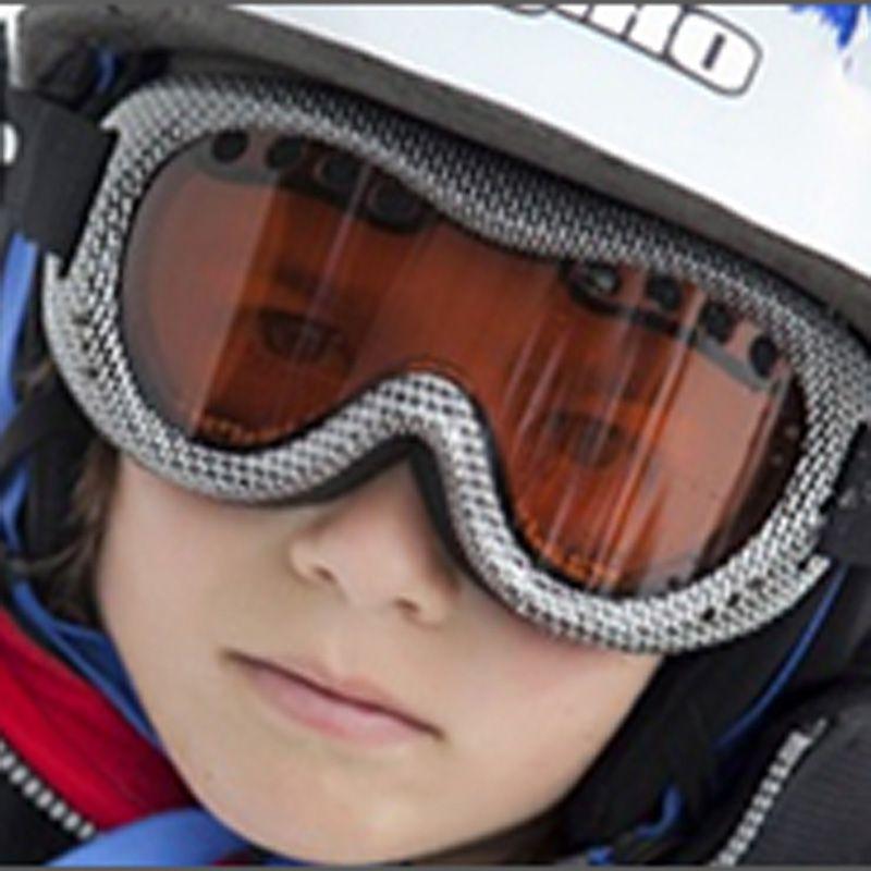 Skibriller fra baby banz - ski banz frostbite black fra Baby banz på babygear.dk
