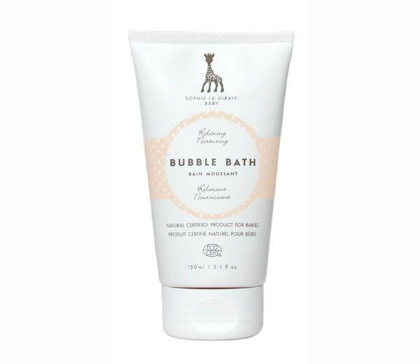 Vulli Baby bubble bath fra sophie la girafe cosmetics (150 ml) fra babygear.dk