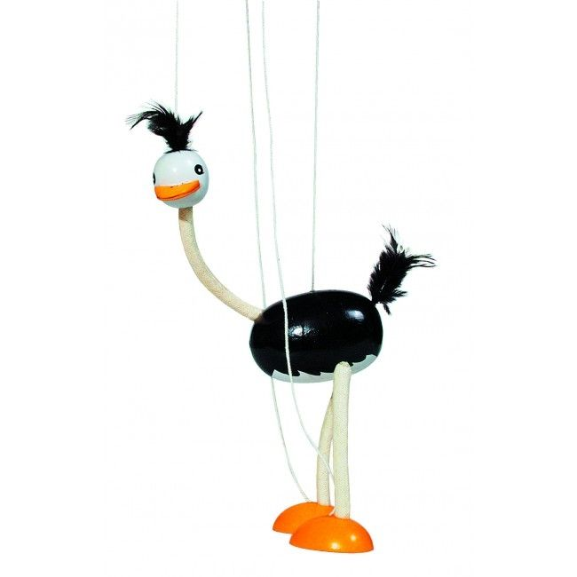 Marionetdukke fra Goki - Struds