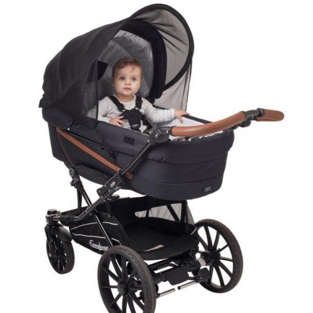 Solskærm til vogn fra Babydan (UV50+)