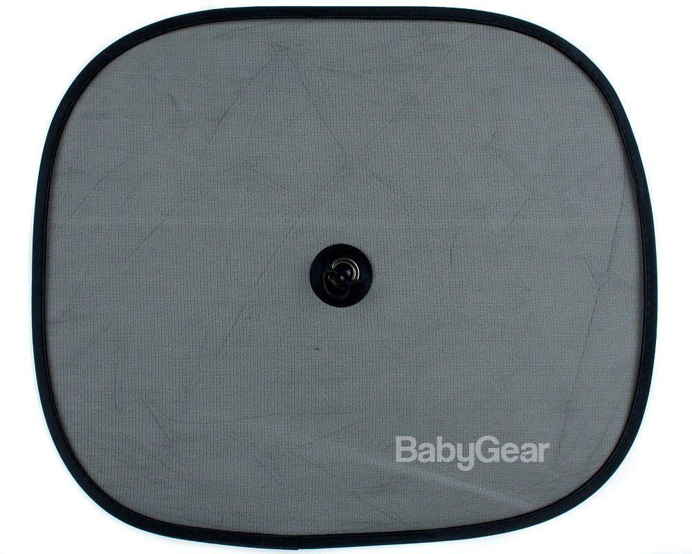 Solskærme med sugekop - Babygear.dk (2 pak)
