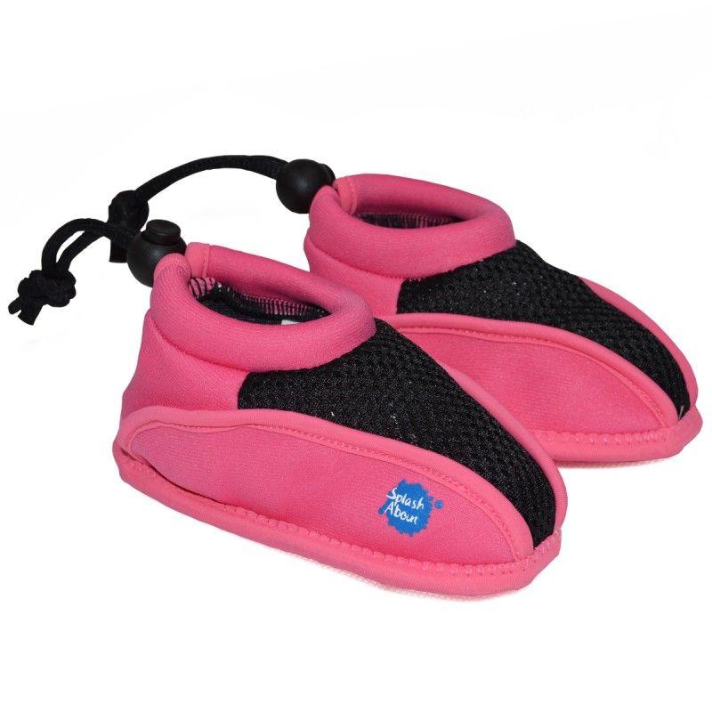 Splash about Strandsko fra splash about - soft sole - pink classic fra babygear.dk