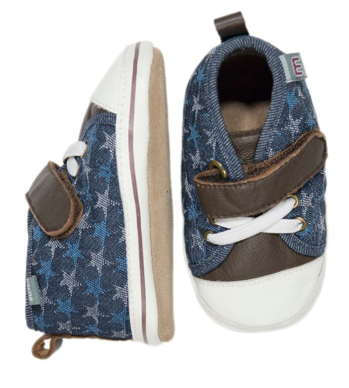 Image of   Hjemmesko fra Melton - High Top - Denim Stars