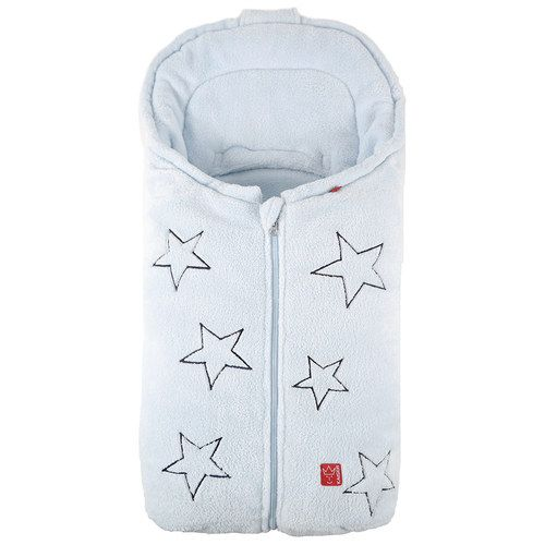 Image of Baby kørepose i fleece fra Kaiser - STELLA - Baby blue (6538829)