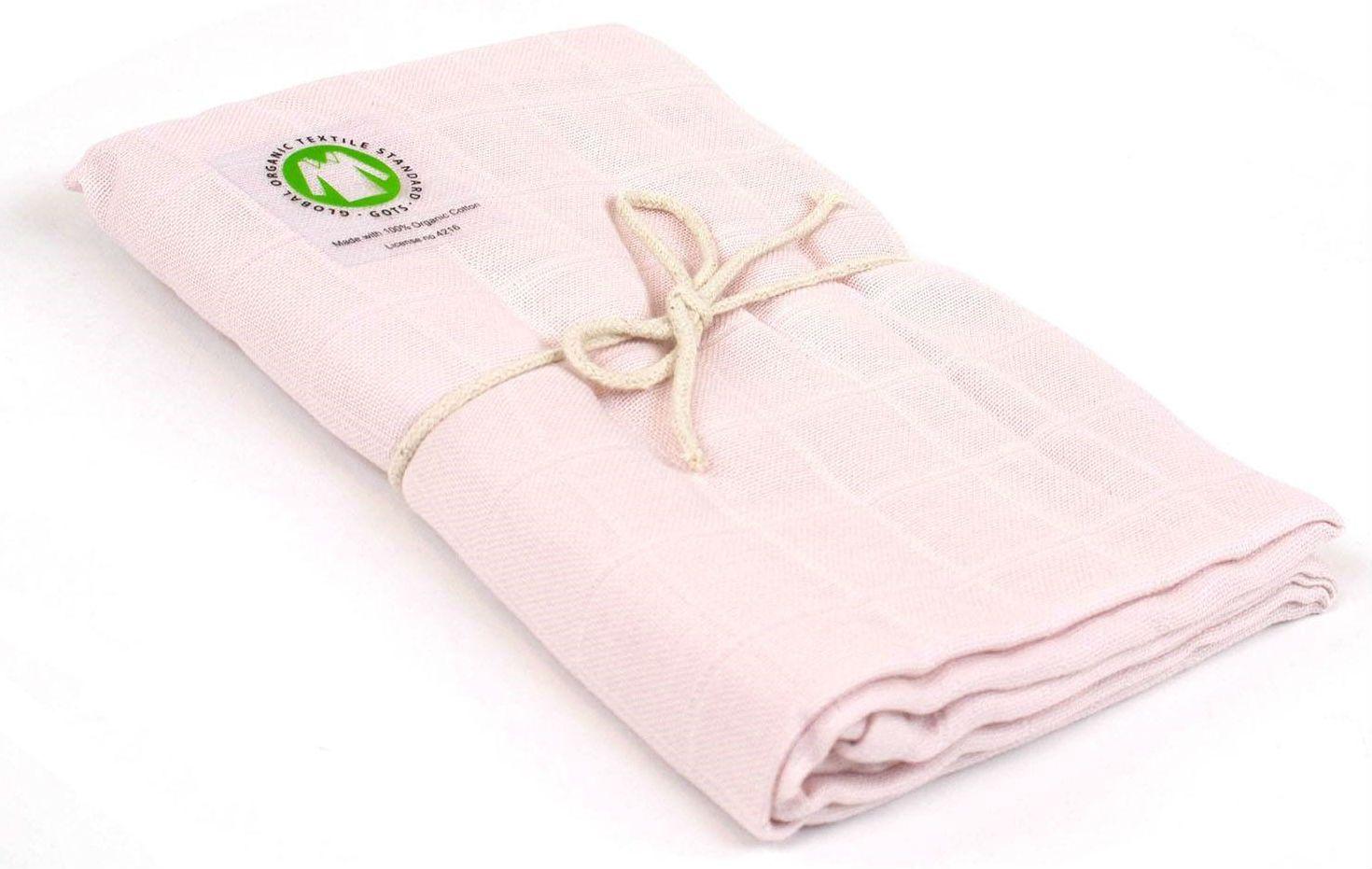 N/A – økologisk stofble (gots) - soft rose på babygear.dk