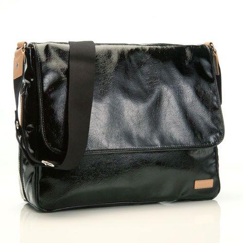 Messenger Bag fra Storksak - Dori Black Patent