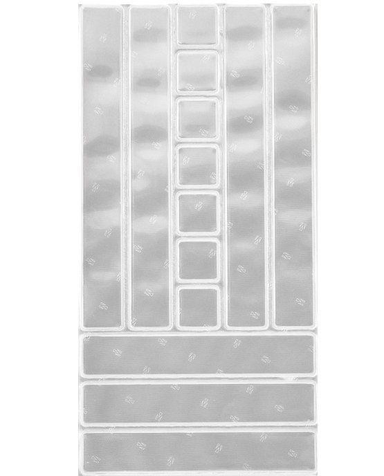Image of Selvklæbende reflekser fra SeeMe - Strips - White (586541)