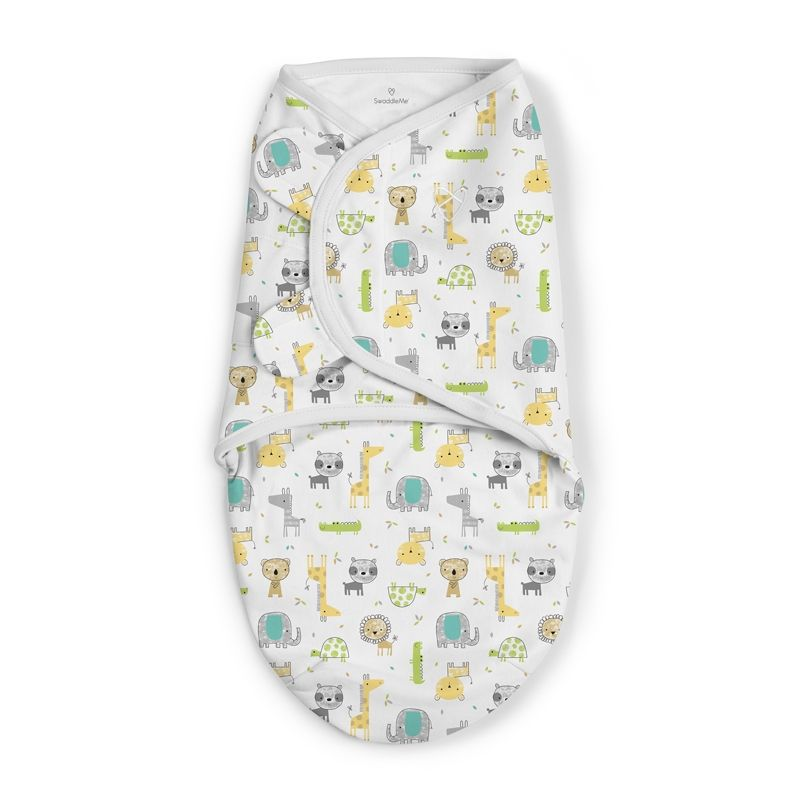 Image of Svøb fra Summer Infant - SwaddleMe - Safari (SMR-BED06)